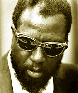 Thelonious Sphere Monk. Click to see him in action.
