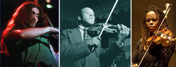 Fiddle me this: violinists in jazz (part 3), and a playlist.